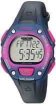 Timex Women's 'Ironman Classic 30' Quartz Resin Sport Watch, Color:Blue (Model: TWH2Z92109J)