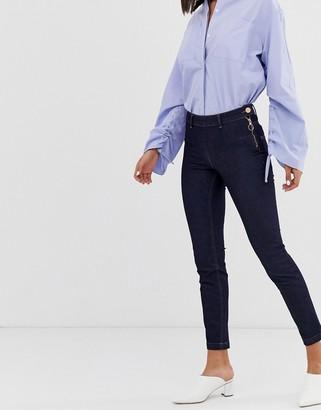 2nd Day Jeanett skinny jeans in rinsed indigo