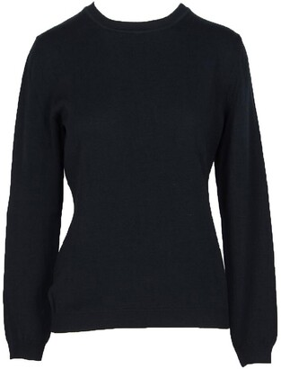 Moschino Solid Black Wool Women's Sweater