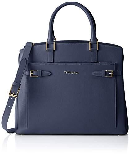 Tru Trussardi Women's 76b32153 Tote Bag blue