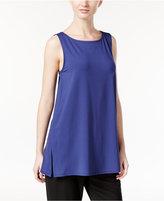 Eileen Fisher Jersey Sleeveless Tunic