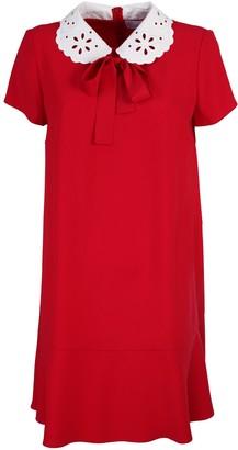 RED Valentino crepe envers satin dress