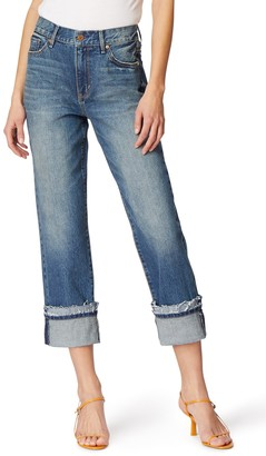 Habitual Averie Cuffed Straight Leg Jeans