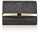 Jimmy Choo Lame Glitter & Metal Clutch