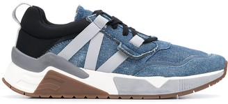 Diesel S-Brentha WL denim low-top sneakers