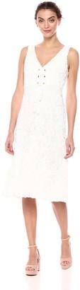 BCBGMAXAZRIA Azria Women's Evanna Corset-Front Lace Dress