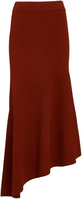 A.L.C. Jasper Asymmetrical Knit Midi Skirt