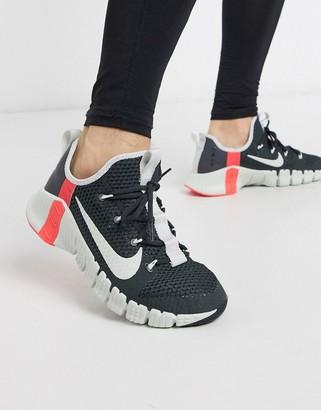 Nike Training Free Metcon 3 sneakers in grey