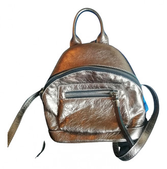 Non Signã© / Unsigned Metallic Leather Backpacks