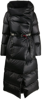 Isaac Sellam Experience Long Leather Puffer Coat