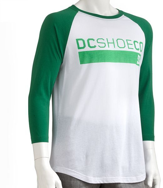 Dc shoe co flavor raglan tee - men