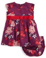 Tea Collection Infant Girl's Hatsu Floral Print Dress