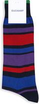 Duchamp Striped cotton-blend socks