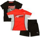 "Puma Toddler Boy Born a Winner"" Tee & Shorts Set"