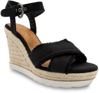 Sugar Fave Women's Espdarille Wedge Sandals