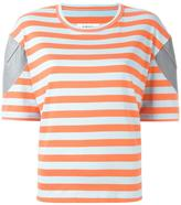MM6 MAISON MARGIELA striped T-shirt