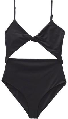 Mara Hoffman Kia Knotted Swimsuit - Womens - Black