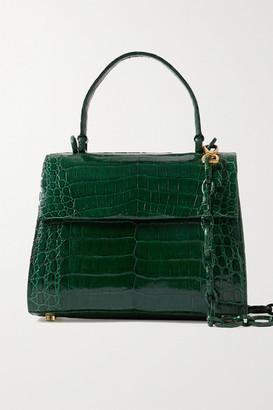 Nancy Gonzalez Lexi Small Crocodile Tote - Emerald