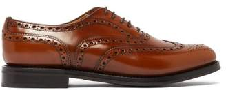 Church's Burwood Antiqued Leather Oxford Shoes - Womens - Tan