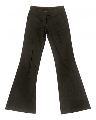 Theory Blue Cotton - elasthane Jeans