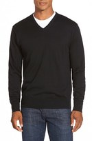 Peter Millar Men's Silk Blend V-Neck Sweater