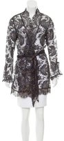 Agent Provocateur Sheer Lace Robe