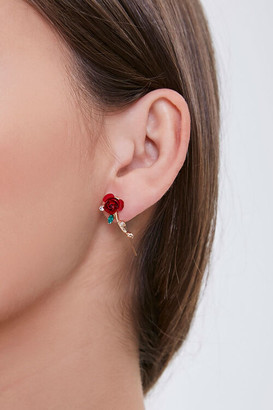 Forever 21 Rose Charm Ear Pins