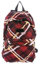 Marc by Marc Jacobs Printed Nylon Backpack