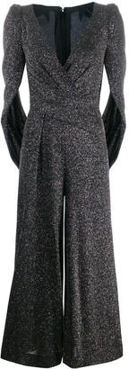 Talbot Runhof metallic jumpsuit