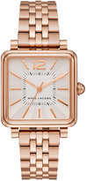 Marc Jacobs Women's Vic Rose Gold-Tone Stainless Steel Bracelet Watch 30mm MJ3514