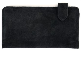 Atelier Hiva Fluctus Suede Wallet Space Blue
