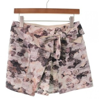 Isabel Marant Grey Cotton Skirt for Women