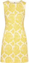 reese witherspoon  Who made  Reese Witherspoons yellow and white print dress?