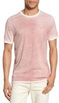 John Varvatos Men's Reverse Sprayed T-Shirt