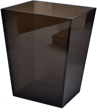 Mike and Ally Smocked Ice Lucite Wastebasket