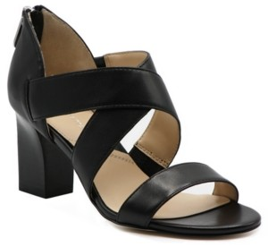 Adrienne Vittadini Rowsey Cross Band Sandals Women's Shoes