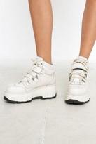 Bronx 1624 Moonwalk White Platform Trainers - white UK 4 at Urban Outfitters