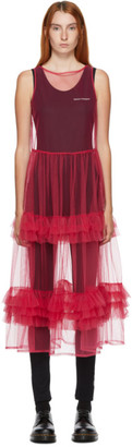 Molly Goddard Pink Nellie Mid-Length Dress