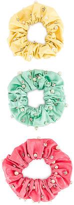 MaryJane Claverol Miami Scrunchie Set
