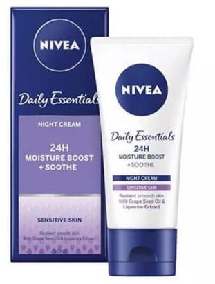 Nivea Daily Essentials Sensitive Night Cream 50Ml
