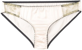 Gilda & Pearl Harlow lace detailed briefs