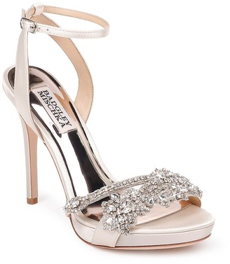 Badgley Mischka Adriana Embellished Stiletto Pump