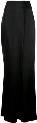 Cushnie Silk Flared Trousers