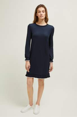Great Plains Pia Piquet Round Neck Dress