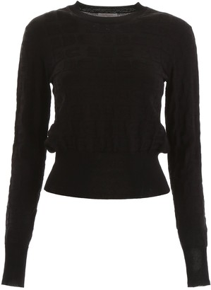 See by Chloe Jacquard Monogram Pullover