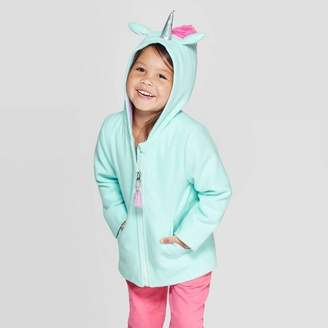 Cat & Jack Toddler Girls' Fashion Jacket Blue