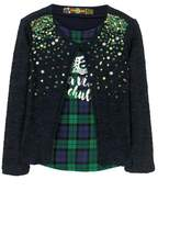 Desigual Sequin Sweater