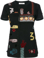 Valentino Counting embroidered T-shirt