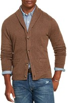 Polo Ralph Lauren Jacquard Fleece Shawl Collar Cardigan