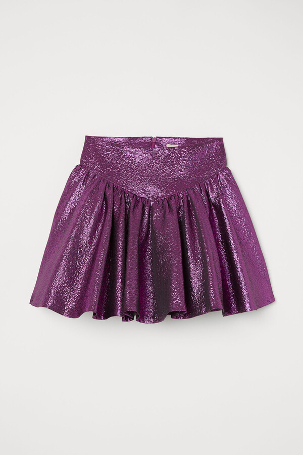 Thumbnail for your product : H&M Shimmering skirt